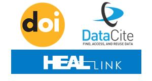 Λογότυπο DOI, DATACite & Heal Link